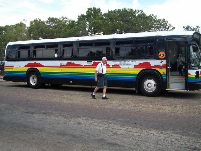 zájezdový autobus