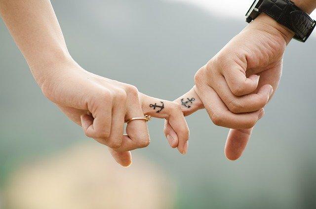 zamilovaný pár