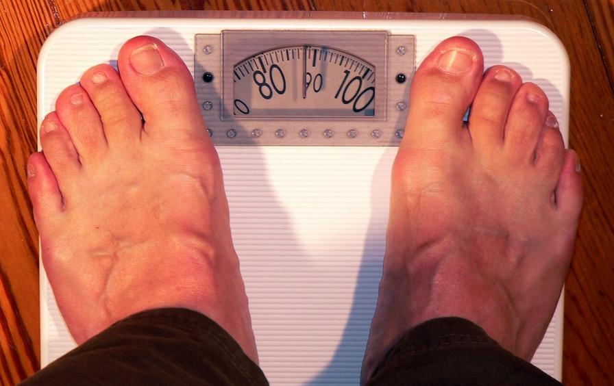 nadváha váha osobní