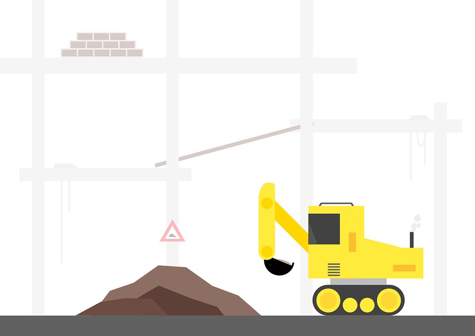 stavební stroj